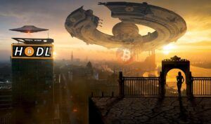 btc, hodl, bitcoin, sci-fi, fantasy, vesmír,