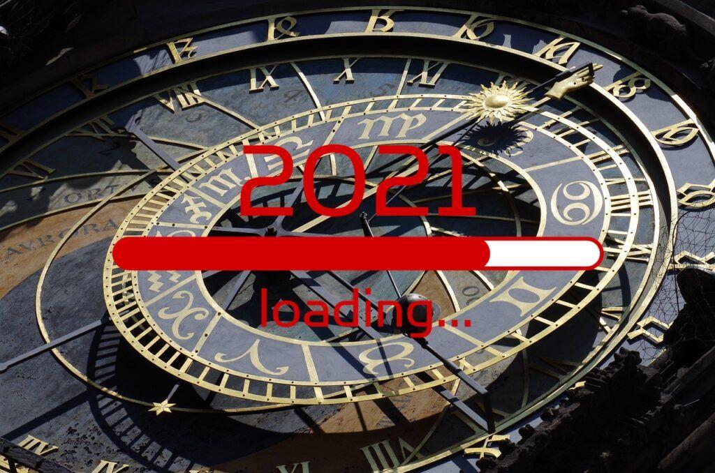 2021, novoroční, Silvestr, předsevzetí, speciál, nový rok, orloj