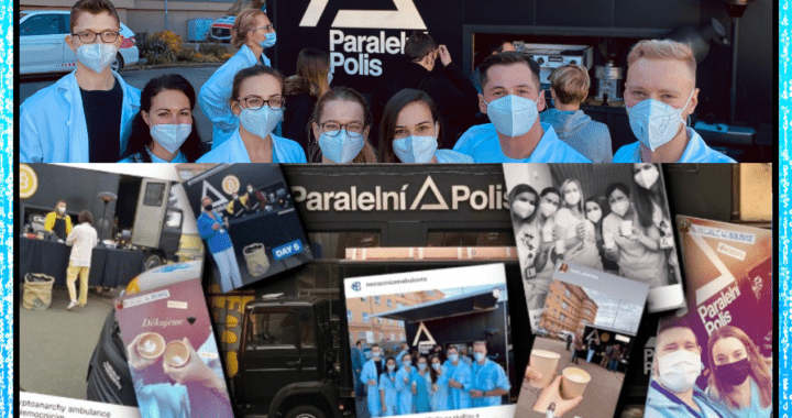 Paralelní polis, zdravotníci, nemocnice, covid, pomoc