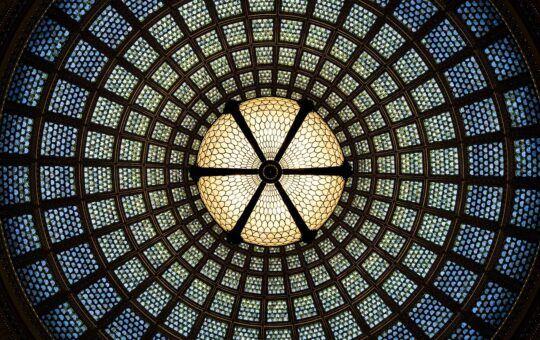 bible, církev, ježíš, sklo, strop, náboženství, mandala, chrám, nadčasový