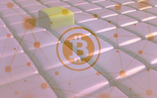 Bitcoin, síť, blockchain, btc, bloky, logo, cubes, decentralizace, nody, uzly, uzlů
