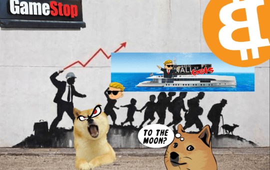 WallStreetBets, DOGE, GAME STOP