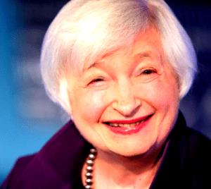 Yellenové, Yellenová, Janet, ministryně financí