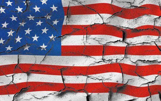 USA, Amerika, Spojené státy, vlajka