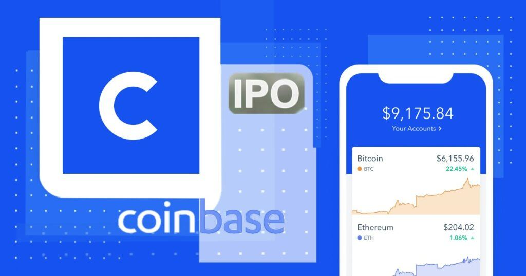 Akcie, Coinbase, IPO,