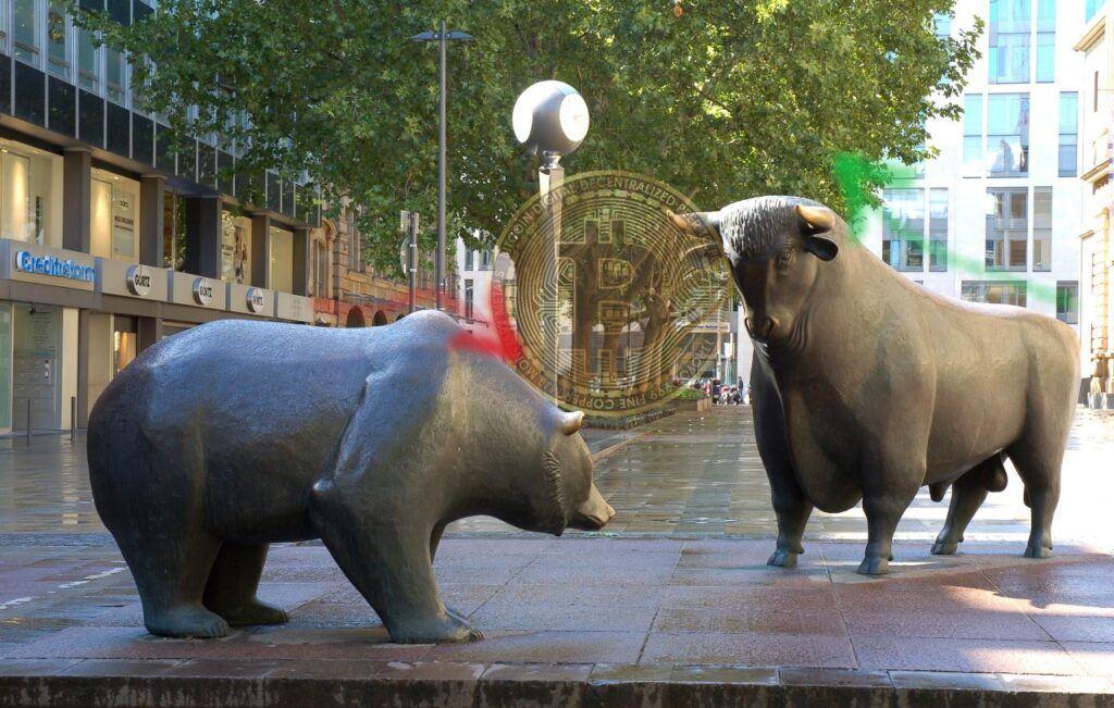 bear market, medvědí trh, bull market, medvěd, býk, btc