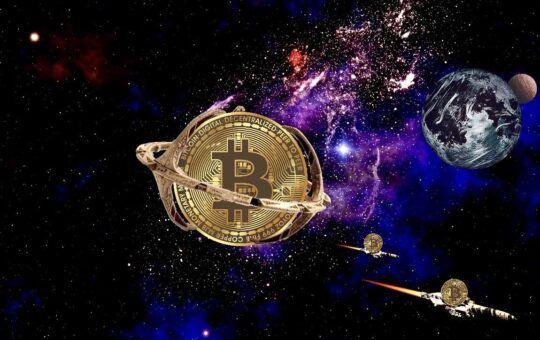 btc, space, sci-fi, planeta, raketa