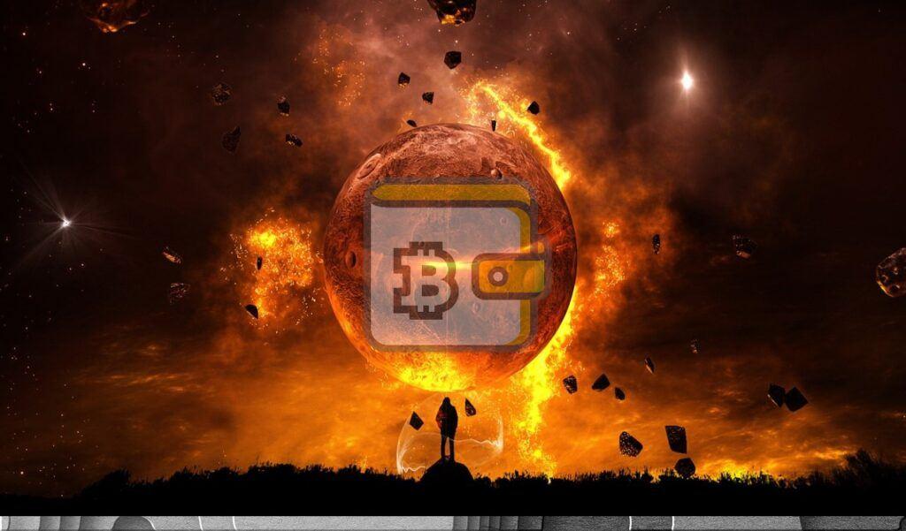 peněženka, peněženky, wallet, btc, bitcoin, sci-fi, moon, vesmír, měsíc