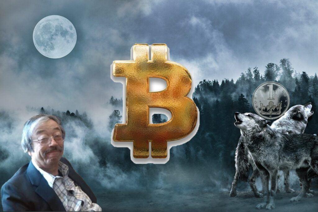 bitcoin, btc, cena, milion, korun, koruna, kč, vlk, moon, satoshi, satoshi nakamoto