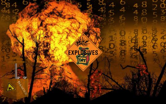 tnt, tuna nových tipů, Nicholas Merten, exploze, dynamit, bull run