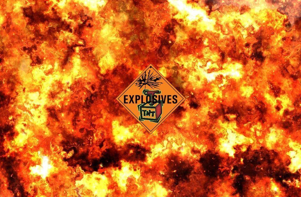 Santiment, seriál tnt, výbuch, 5 malých prasátek