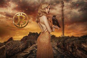 bitcoin, btc, scifi, apokalypsa, havran