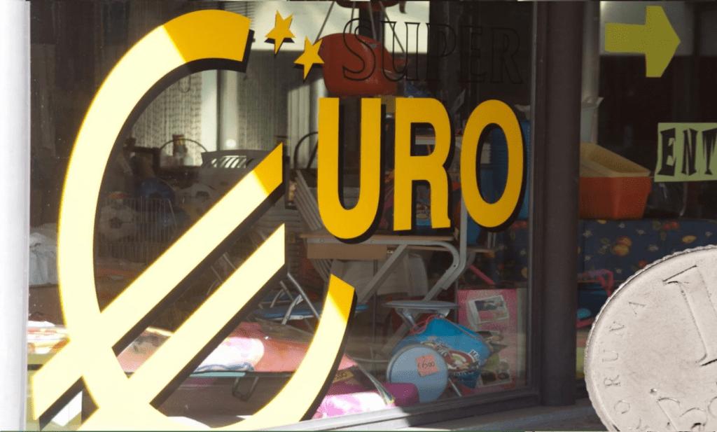 euro a koruna