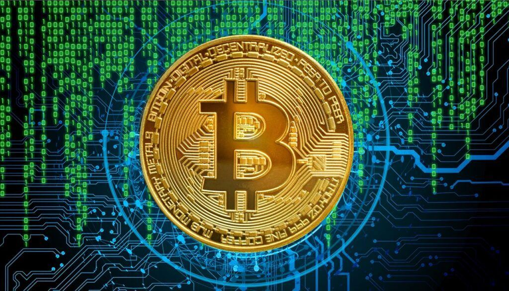btc, bitcoin, digital, kód, program, digitální