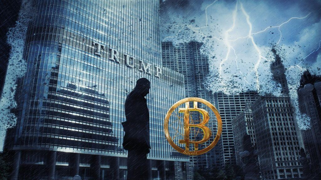 Donald Trump, bitcoin, trump, zkáza