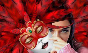 anonymita, upozornění, žena, tajemný, pozor