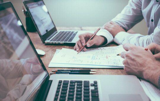 kancelář, práce, počítač, byznys, data, studie